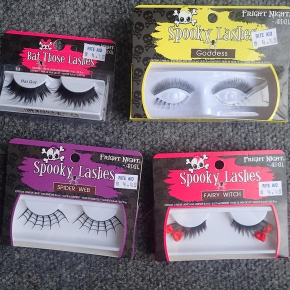 246743a4af4 Ardell Makeup | 4 Packs Of Assorted Halloween False Lashes | Poshmark